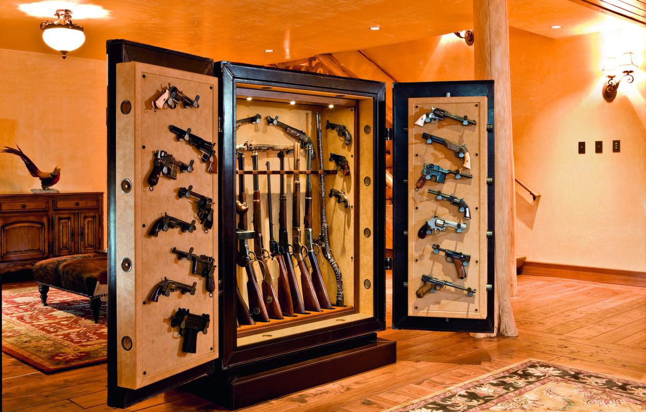 Как сделать сейф для охотничьего ружья