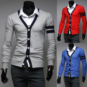 Men-Slim-Cardigan-2014-New-Fashio-Mens-Casual-Europe-and-America-Style-Knit-Men-s-V
